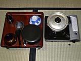酸ヶ湯温泉旅館部の食事:ご飯とみそ汁