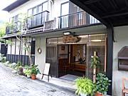 湯宿温泉金田屋さんの入口