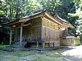 鰐淵寺境内内摩陀羅神社