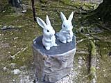 因幡の白ウサギの像