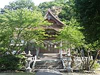 温泉津 石見神楽をやった神社
