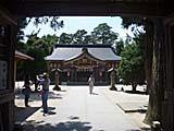 八重垣神社の境内