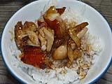金目鯛の煮付けミニ丼