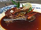 金目鯛の煮付けを綺麗に食べた後。