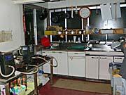 福島屋自炊棟の台所