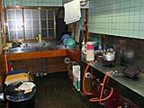 最上屋旅館の炊事場