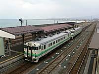 函館からの列車