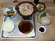 北海道の海の幸、山の幸の夕食2