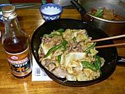 豚肉とキャベツのスタミナ源たれ炒め