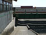 東海道線の線路下をくぐる