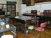 山田旅館の炊事場