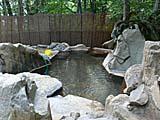 小谷温泉雨飾温泉露天風呂