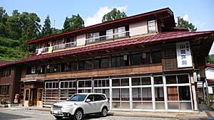 小谷温泉山田旅館の本館