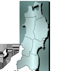 東北地図イメージ