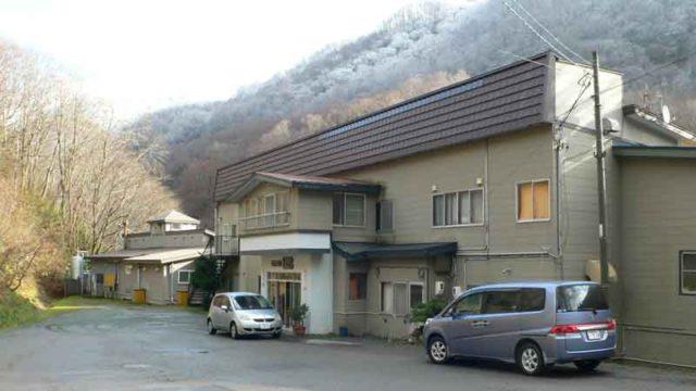 見市温泉旅館 外観 北海道