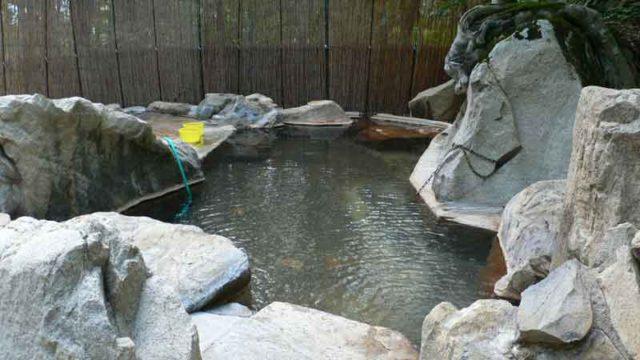 小谷温泉 無料の立ち寄り湯