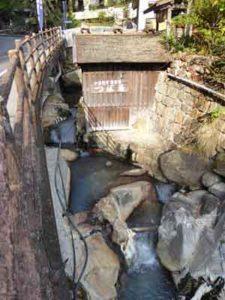 湯の峰温泉 つぼ湯 世界遺産の外観
