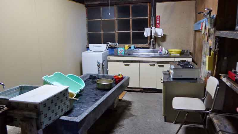 黒石温湯温泉 客舎後藤の台所