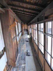 黒石温湯温泉 温泉客舎 後藤 廊下