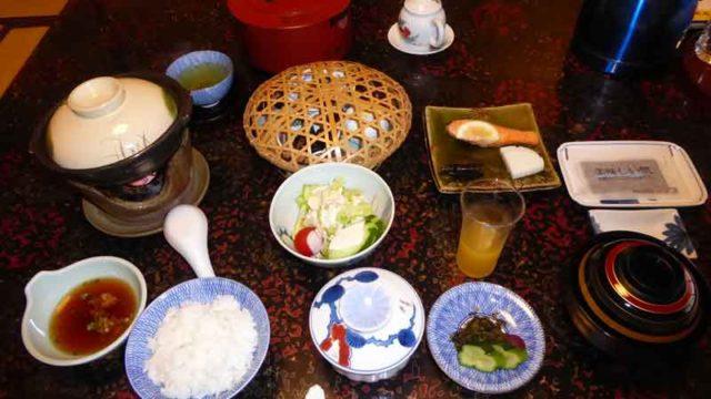 武雄温泉東洋館の朝食